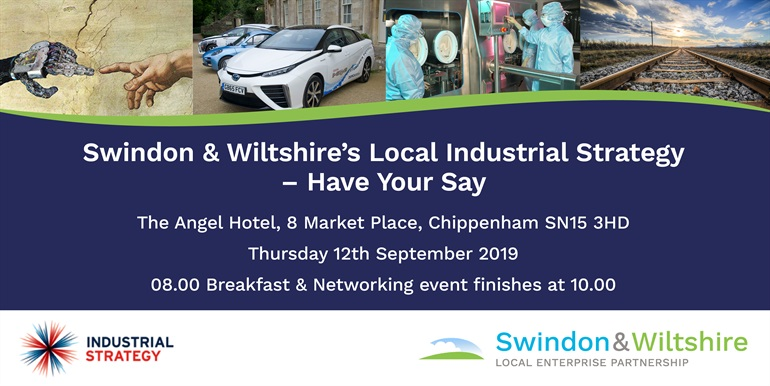 Swindon & Wiltshire's Local Industrial Strategy – Have Your Say 2019 email image