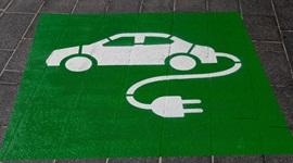 Electric vehicle charging symbol