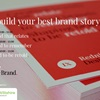 Photo of business cards with Red Nine Design and Brand on them with title of article and webinar dates