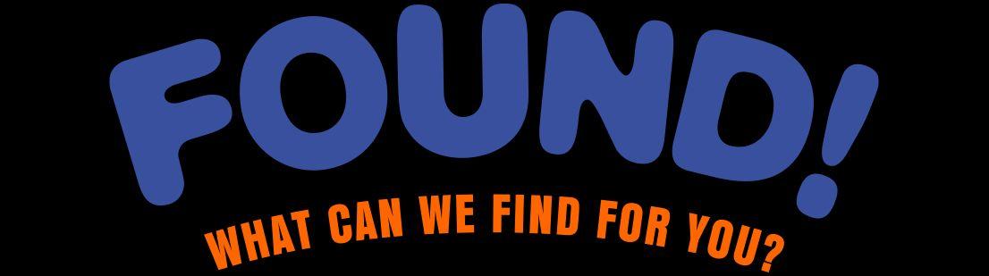 FOUND! Logo
