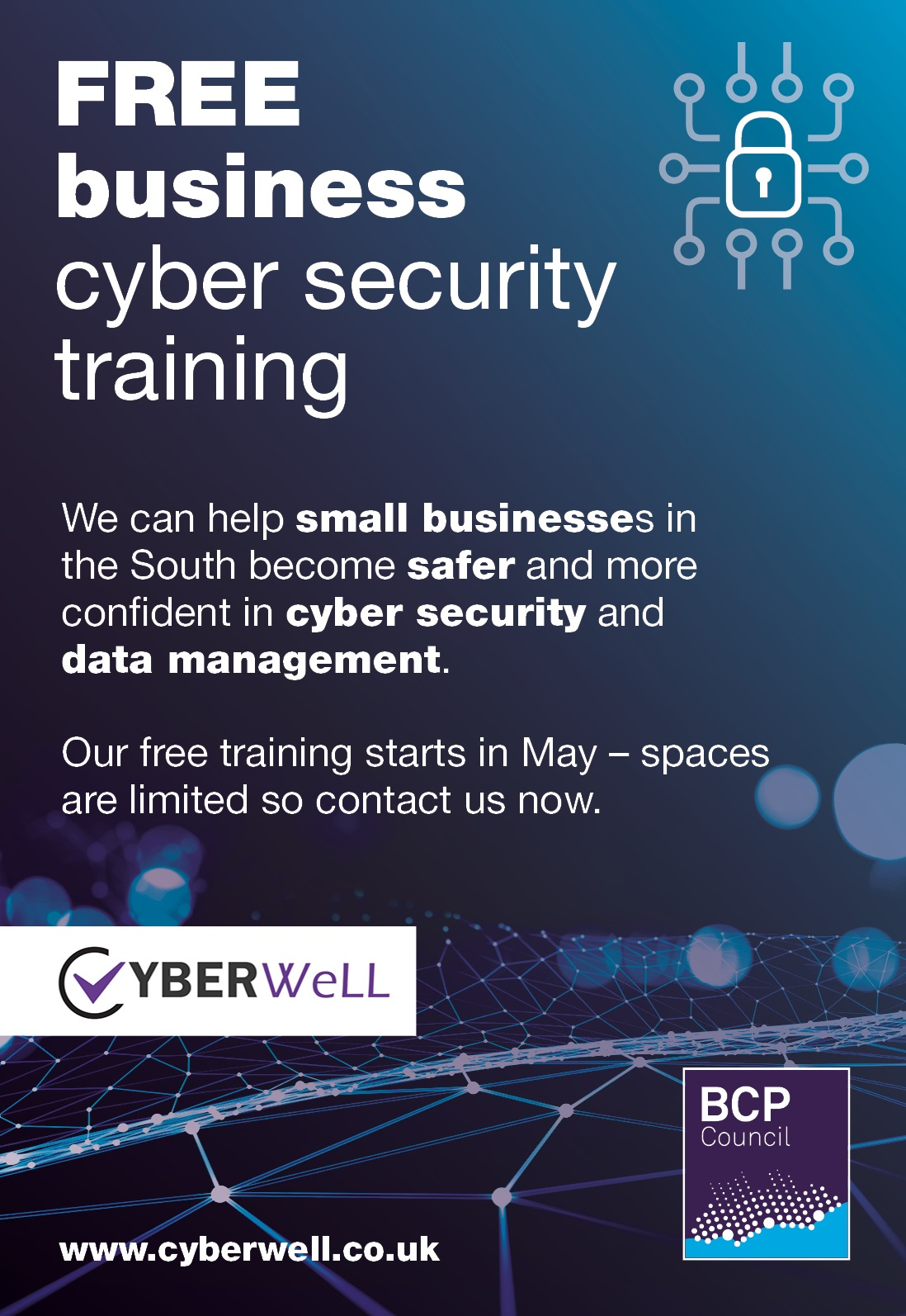 BCP Council Cyber Security Advert May
